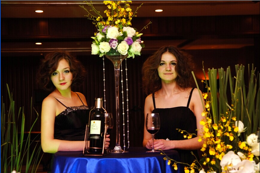 长沙华悦城加入国际派对签约仪式策划现场外籍模特