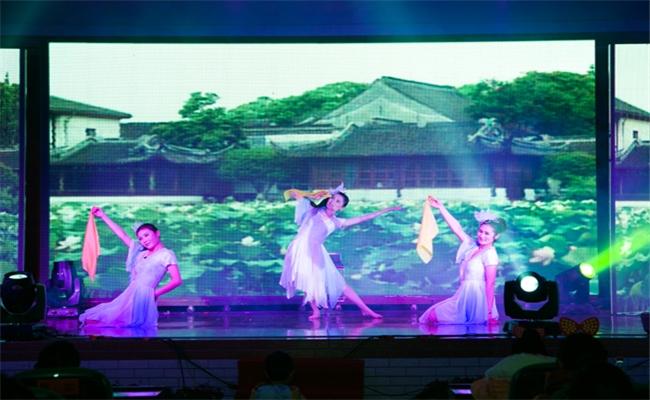 湖南盈成集团2014年迎新晚会暨表彰大会大型舞蹈花开四季