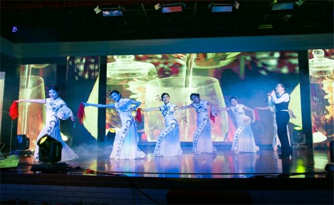 湖南盈成集团2014年迎新晚会暨表彰大会古典歌伴舞表演