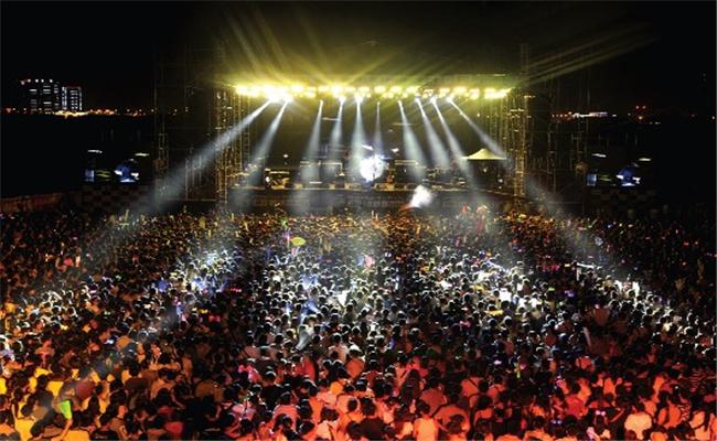 万科2013长沙橘洲(国际)音乐节活动音乐盛事万人空巷