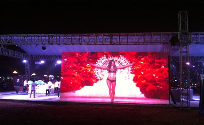万科2013长沙橘洲(国际)音乐节活动现场特色版块秀
