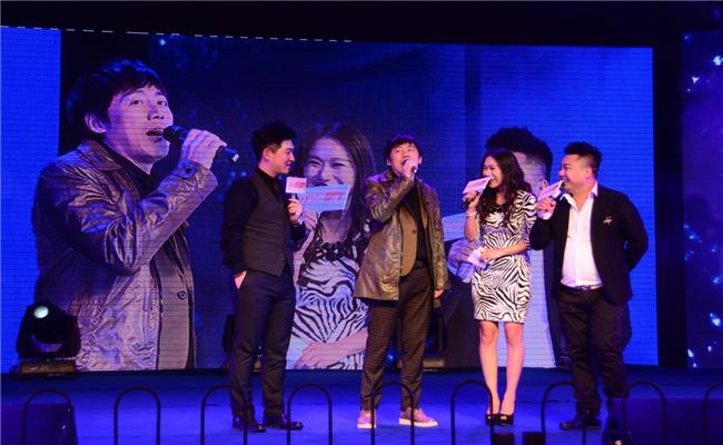 """和泓地产携手""""我是歌手""""张宇举行音乐会张宇与主持人幽默对谈"""