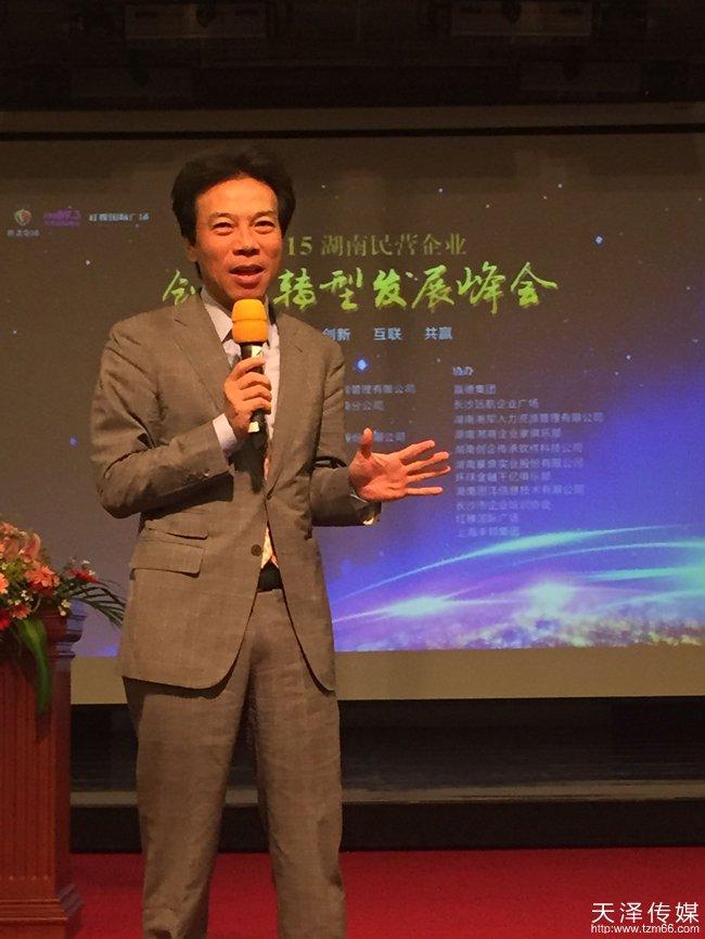 湖南民营企业发展峰会唐骏演讲